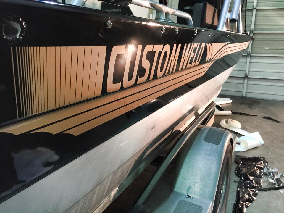 Boat Decal Wrap