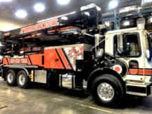 JT Hoover Concrete Truck Wrap