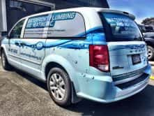 Waterfront Plumbing & Heating Inc. Vinyl Wrap