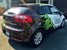Kingston Flooring Vinyl Car Wrap