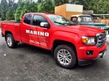 Truck Wrap for Marino General Contracting