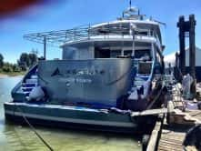 Ascente Custom Boat Wrap