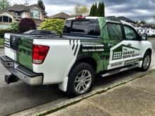 Garage Door Depot truck wrap by Wrap Guys