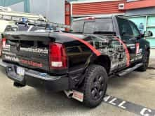Wrap Guys' truck wrap for Kerr Construction