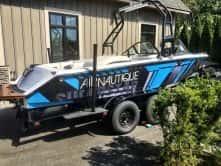 Nautique Vinyl Boat Wrap