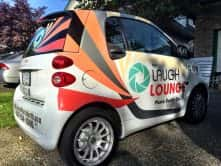 The Laugh Lounge Vinyl Vehicle Wrap