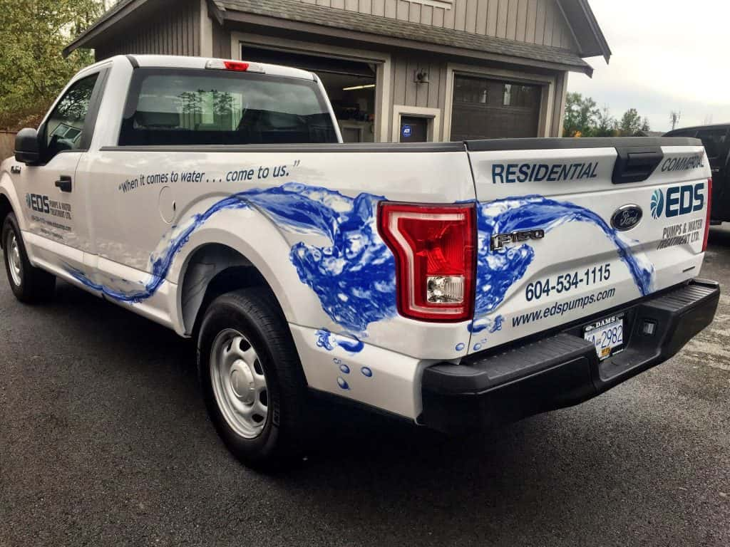 Truck wrap for EDS Pumps
