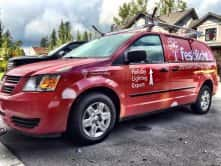Festilight custom vinyl van wrap