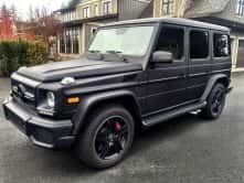 Wrap Guys custom wrap for a Mercedes Benz G-Class