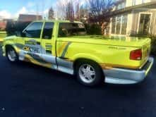 Wrap Guys truck wrap for OK Tire
