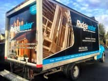 Custom truck wrap for Ridgewater