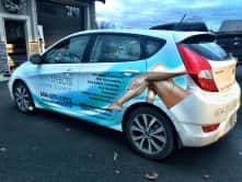 Car wrap for Skin Effects Laser Clinic