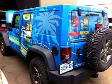 Wrap Guys vinyl wraps for event marketing