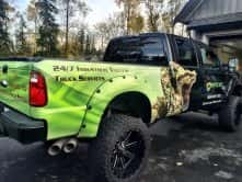 Venom Industrial Inc. truck wrap