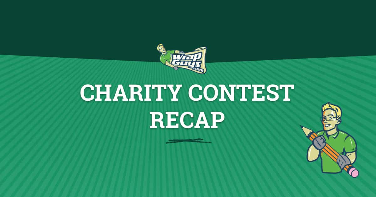 Wrap Guys Charity Contest Recap