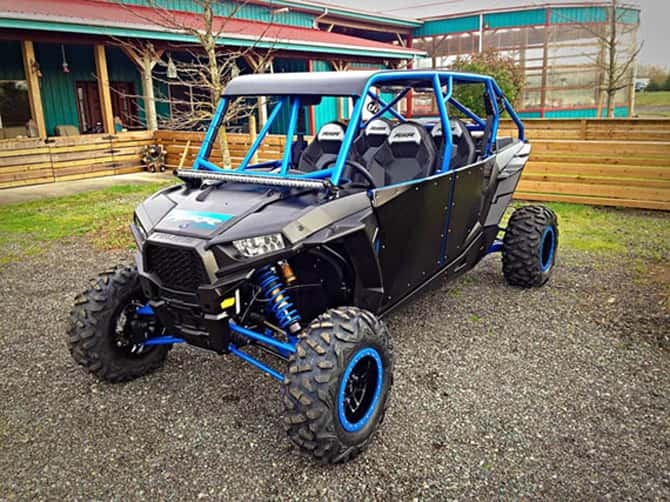 A custom vinyl ATV wrap by Wrap Guys