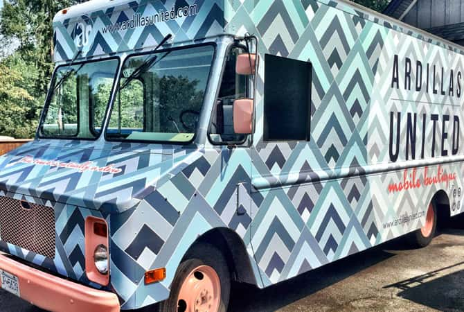 A small business food truck wrap by Wrap Guys
