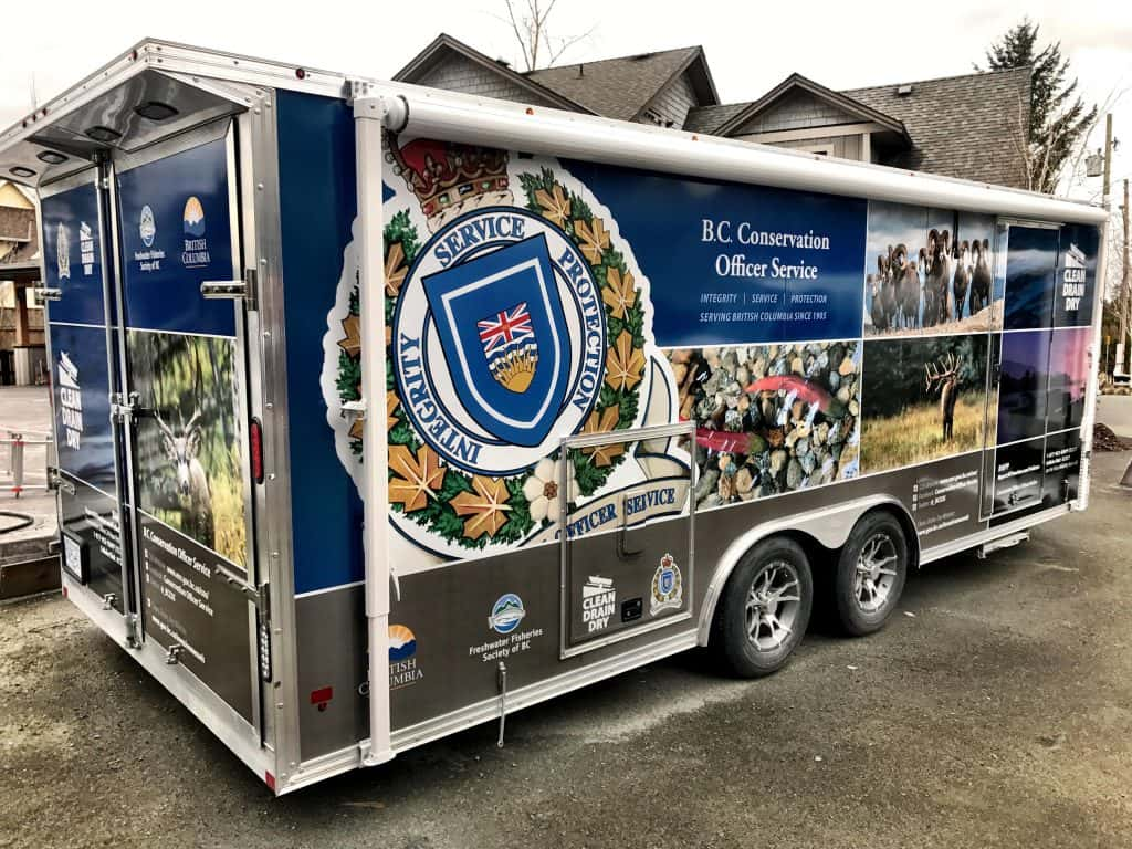 BC Conservation Officer Service Trailer