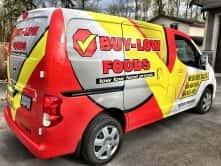 Buy-Low Foods full vehicle wrap