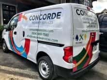 Concorde full vehicle wrap