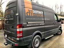 Distinct Interiors partial vehicle wrap