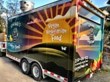 Gonvida's Veggie Bomb Food Truck full vehicle wrap by Wrap Guys