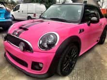 Mini Cooper full vehicle wrap