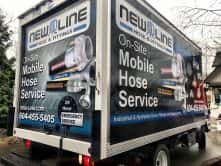 New Line full vehicle wrap