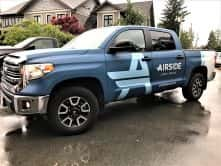 Airside Event Surfaces full truck wrap