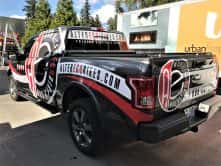 Alter Ego Bikes full truck wrap