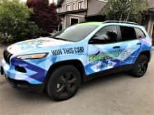 Cannafest 2017 full vehicle wrap