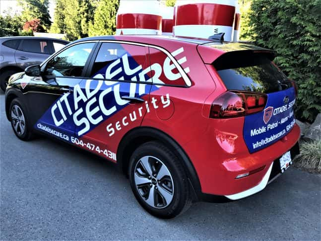 Citadel Secure Security full vehicle wrap