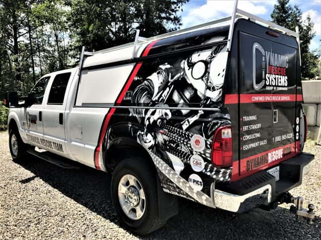Dynamic Rescue Systems full vehicle wrap