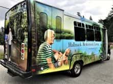 Hallmark Retirement Living full vehicle wrap