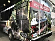 Into the wild full vehicle wrap