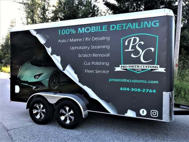 Pro Smith Customs Ltd. full trailer wrap