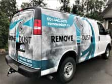 Remove Dust full van wrap