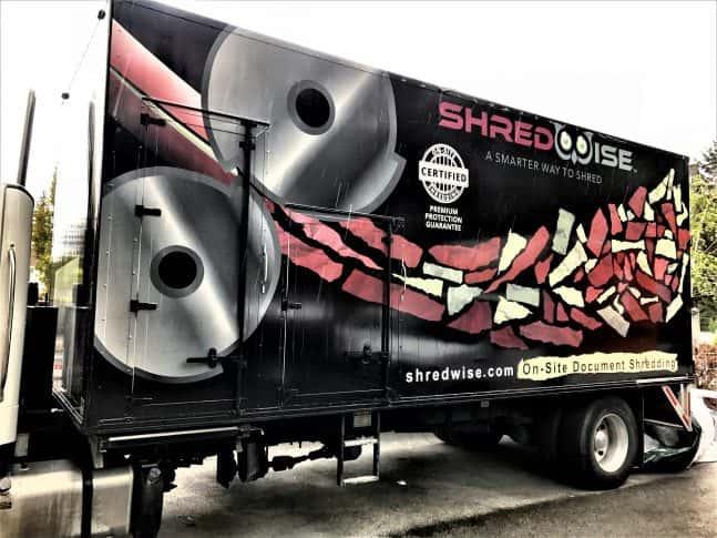 Shredwise full trailer wrap