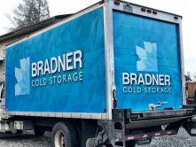 Bradner Cold Storage full truck wrap
