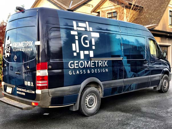 Geometrix Glass & Design full vehicle wrap
