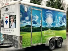 Remax full trailer wrap