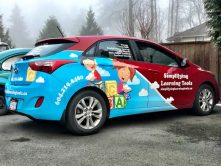 Simplifying Learning Tools full car wrap