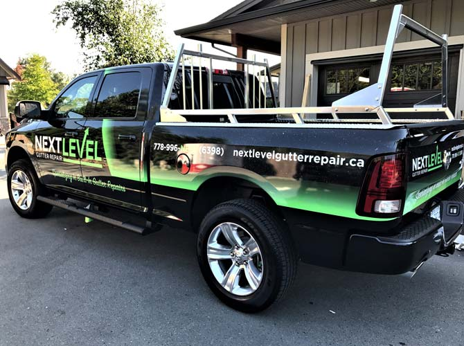 Surrey vinyl car wraps and truck wraps from Wrap Guys