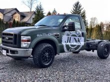 Take My Junk Ltd. full truck wrap