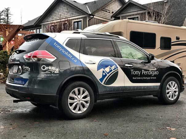 Tony Perdigao full SUV wrap