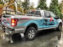 Absolute Roof Solutions full truck wrap