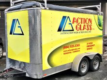 Action Glass full trailer wrap