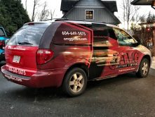 AMG Gutters Limited full vehicle wrap