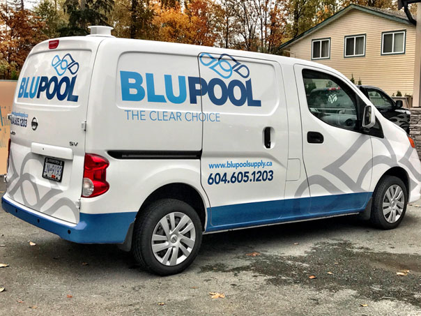 Blupool Supply full van wrap