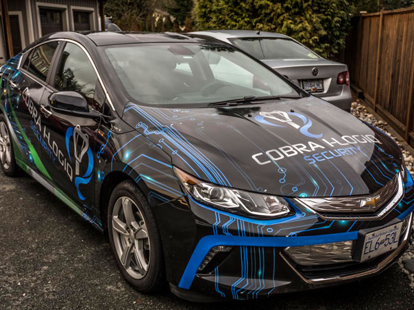 Cobra I-Logiq Security full vehicle wrap